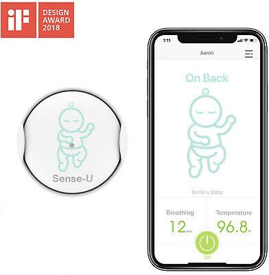 Sense-U Baby Infant Breathing & Rollover Movement Monitor ...