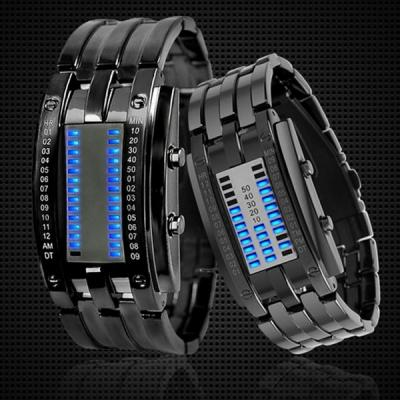 Skmei Japan Movts Binary Matrix LED Sports Lovers Wrist ...