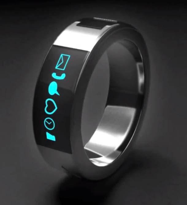 Smarty Ring, la bague high tech connectée