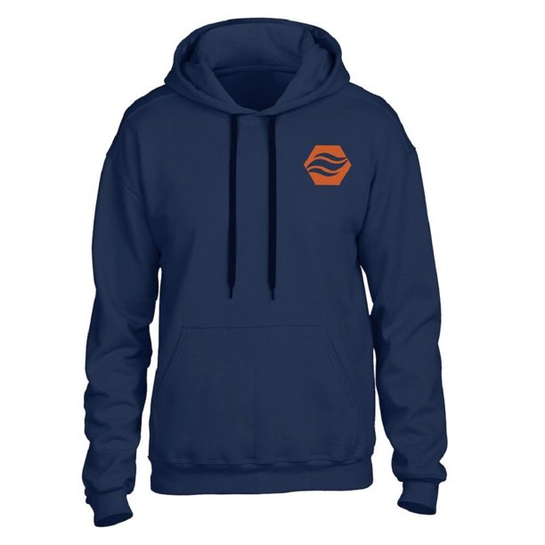 Stay Warm Apparel Heated Hoodie With Rechargeable Battery - Navy - L/XL