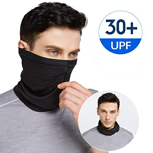 Summer Neck Gaiter Face Cover Mask, Sun UV Face Scarf Cool Bandana- Fishing Cycling Hiking