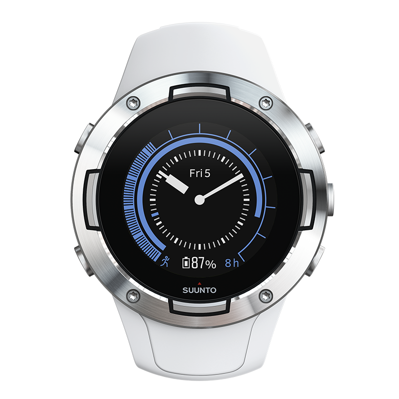 Suunto 5 White - Compact GPS sports watch with great ...