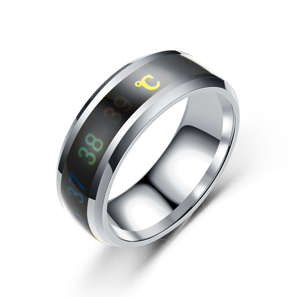 Temperature Measuring Ring Love Temperature Allochroic ...