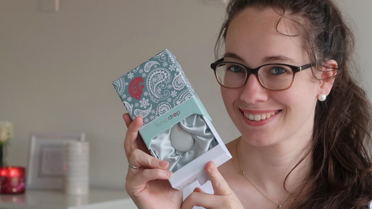 Unboxing tempdrop | Fertility tracking wearable - YouTube