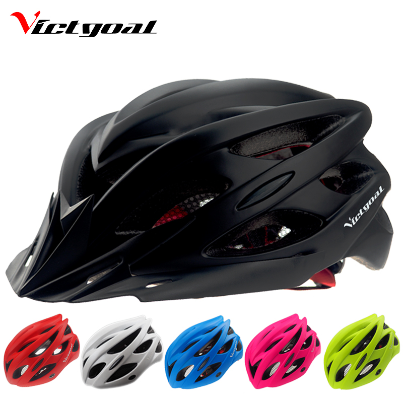 VICTGOAL Bicycle Helmets Matte Black Men Women Bike Helmet ...
