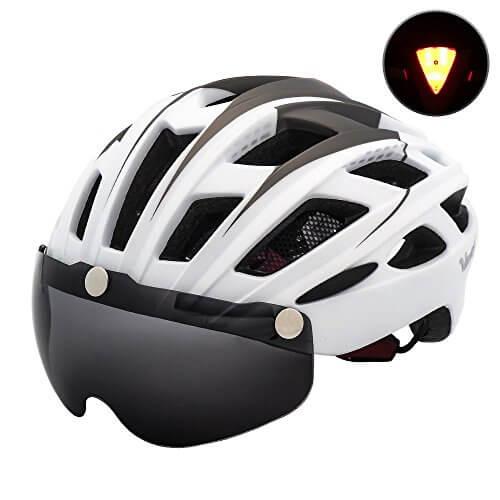 VICTGOAL Bike Helmet for Men Women with Safety Led Back ...