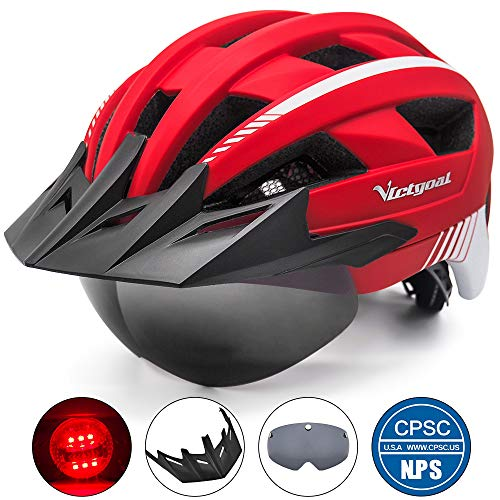 VICTGOAL Bike Helmet (Red)
