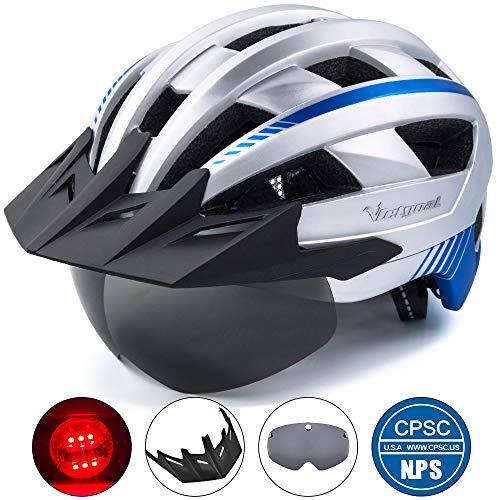 VICTGOAL Bike Helmet (Silver)