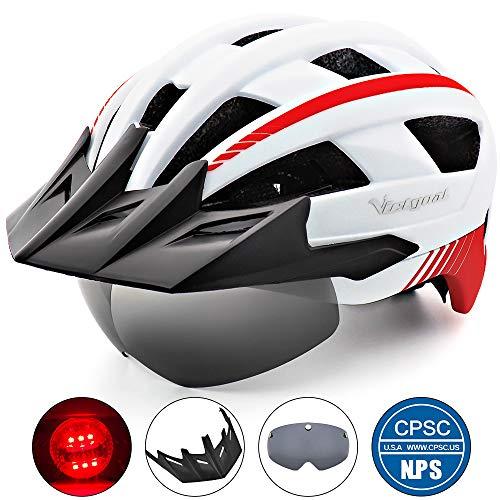 VICTGOAL Bike Helmet (White)