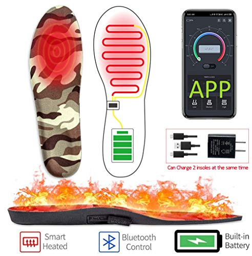 Warm Series heated smart insoles