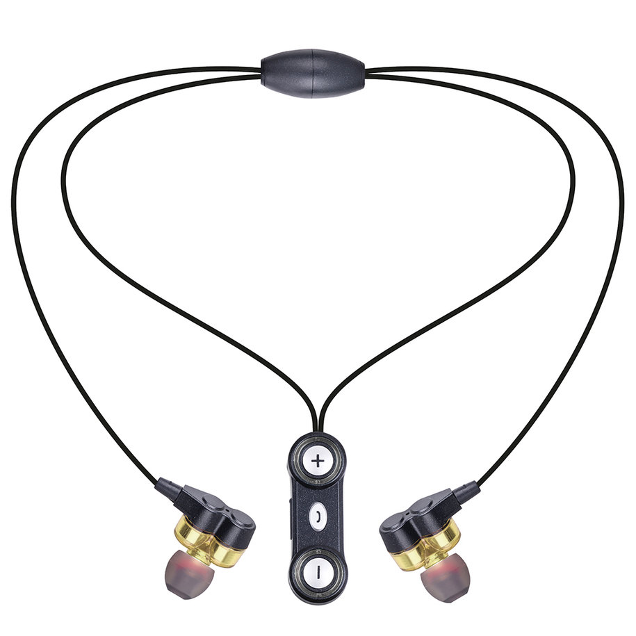 Wireless Bluetooth Necklace Type Lossless Decoding Headset ...