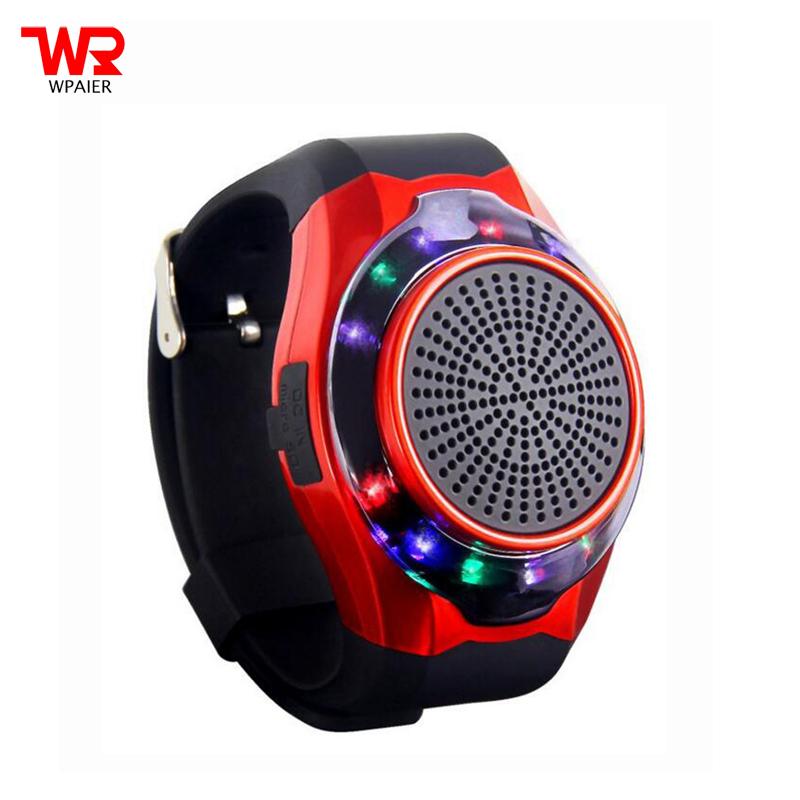 WPAIER U3 Wrist Watch wireless bluetooth speaker portable ...