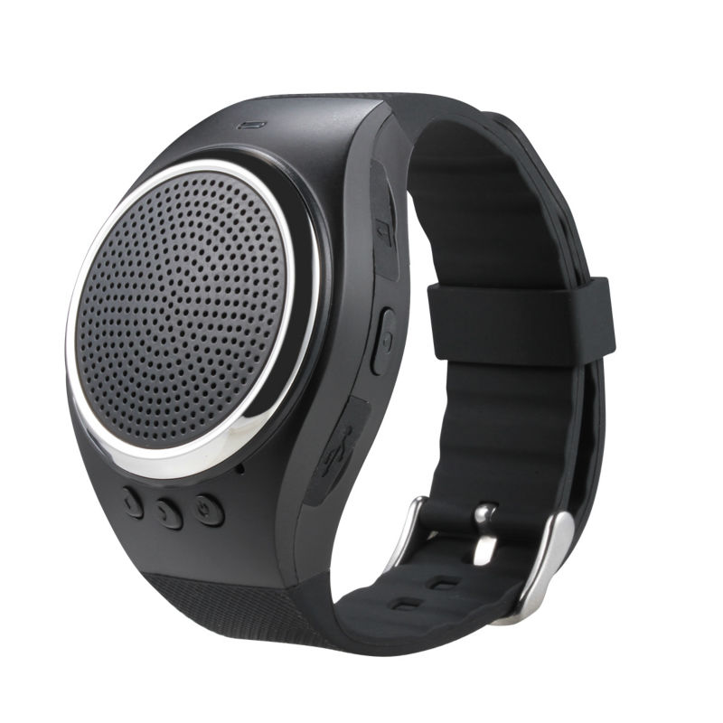 Wrist Bluetooth speaker for outdoor use with synic with ...