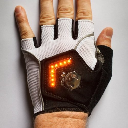 Zackees LED Turn Signal Cycling Gloves