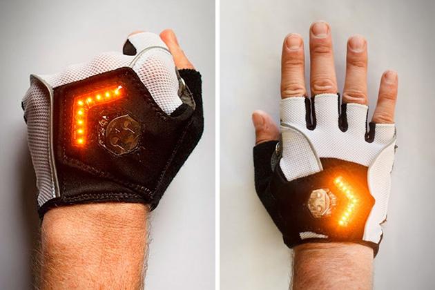 Zackees LED Turn Signal Gloves | HiConsumption