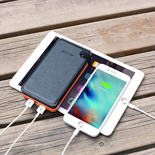 25000mAh Solar Charger Portable Power Bank With Dual 2.1A ...