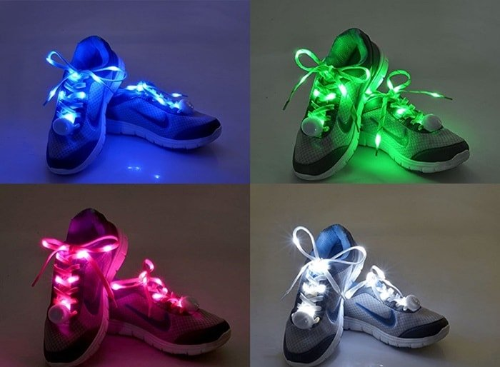 4 Best Light Up Shoelaces and LED Laces for Shoes/Sneakers