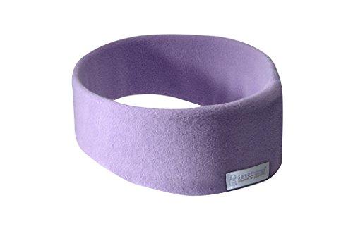 AcousticSheep SleepPhones Wireless | Quiet Lavender - Fleece Fabric (Size M)