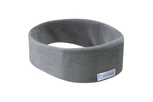 AcousticSheep SleepPhones Wireless | Soft Gray - Fleece Fabric (Size S)