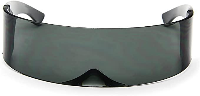 Futuristic Shield Sunglasses Monoblock Cyclops