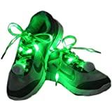 Amazon.com: Kids Orange Glow in the Dark Sports LED Shoestring Night Running Golf Skate ...