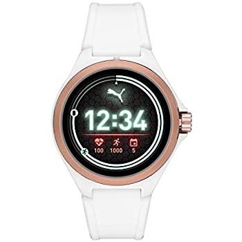Amazon.com: PUMA Sport 44mm Heart Rate Smartwatch - White ...
