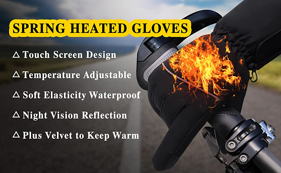 Spring Heated Gloves