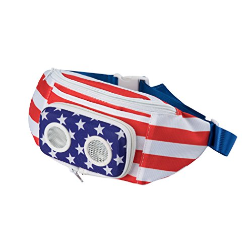 American Flag Fannypack with Speakers (2021 Edition)