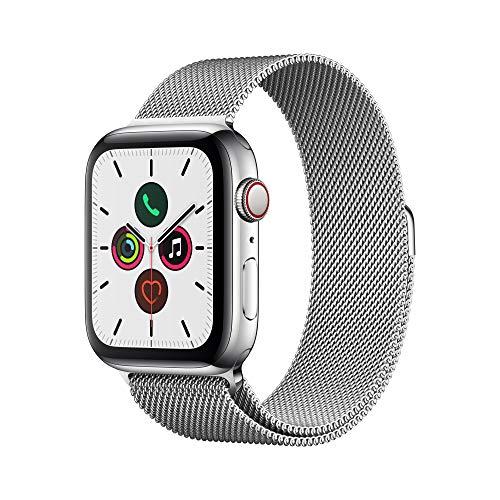 Apple Watch Series 5 - Stainless Steel Case with Milanese Loop