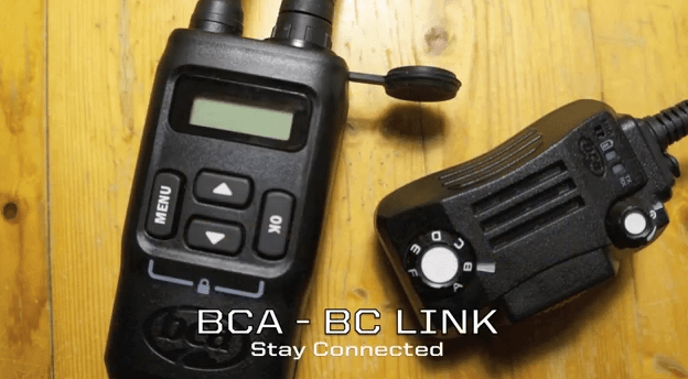 BCA BC-Link Radios   Mountain Sledder