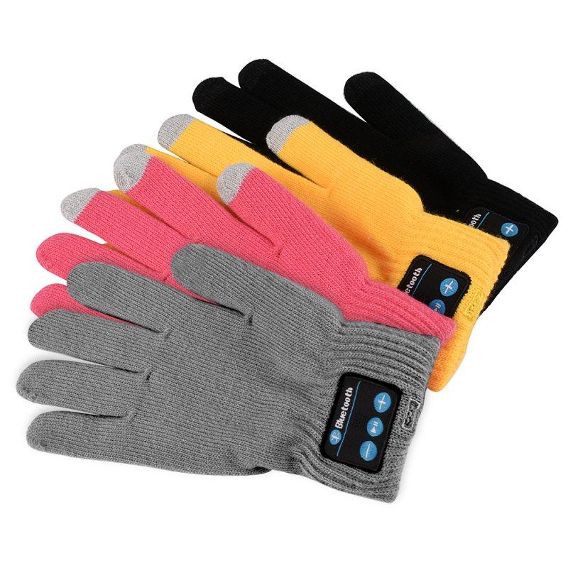Bluetooth Gloves For Women Men Winter Knit Warm Mittens ...