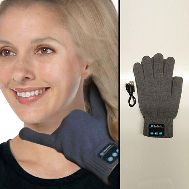 Bluetooth Gloves - Gray