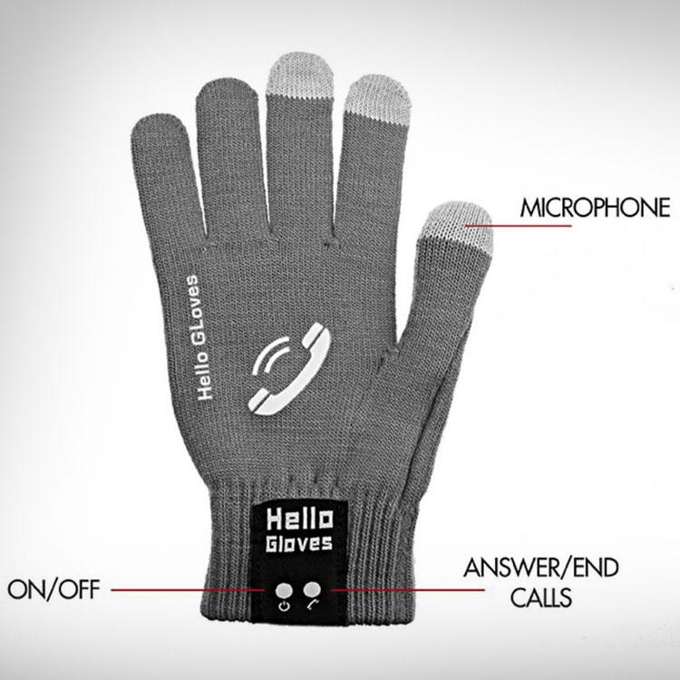 Bluetooth Smartphone Gloves