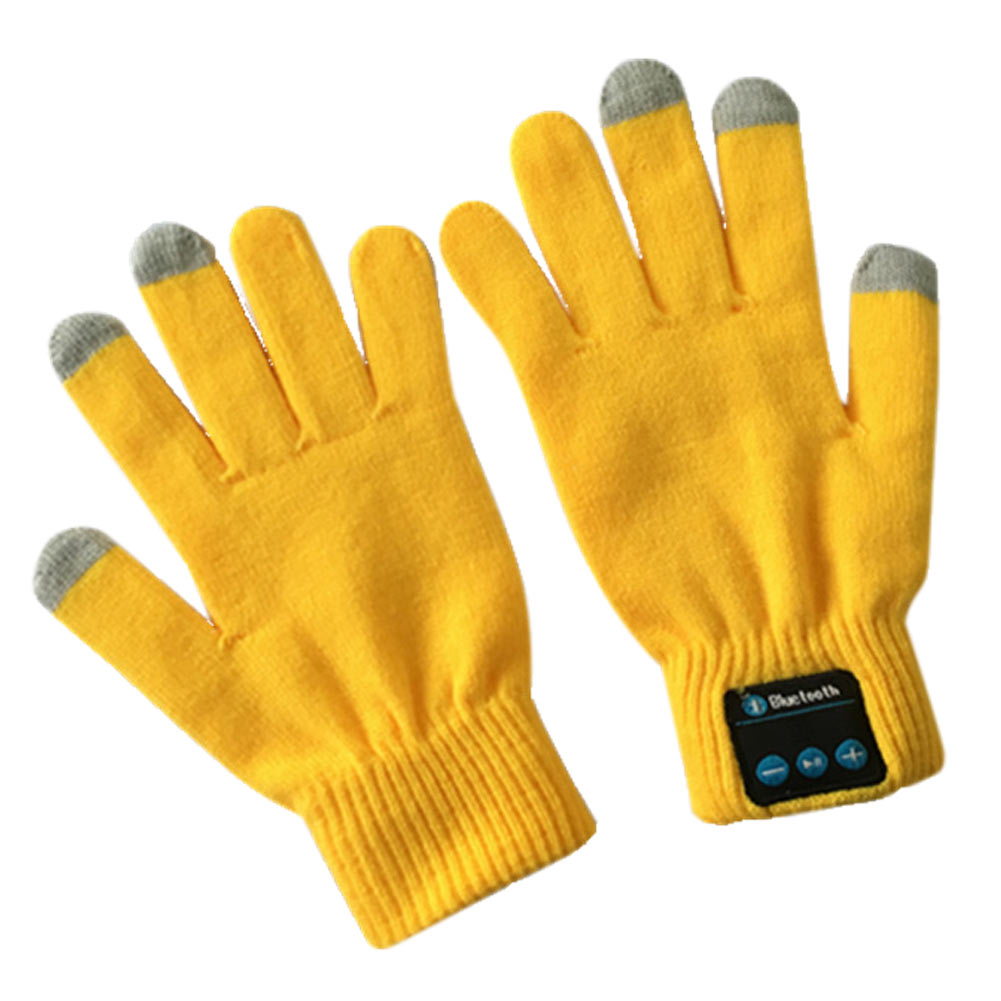 Bluetooth Talking Gloves Touch Screen V3.0 Call Headset ...