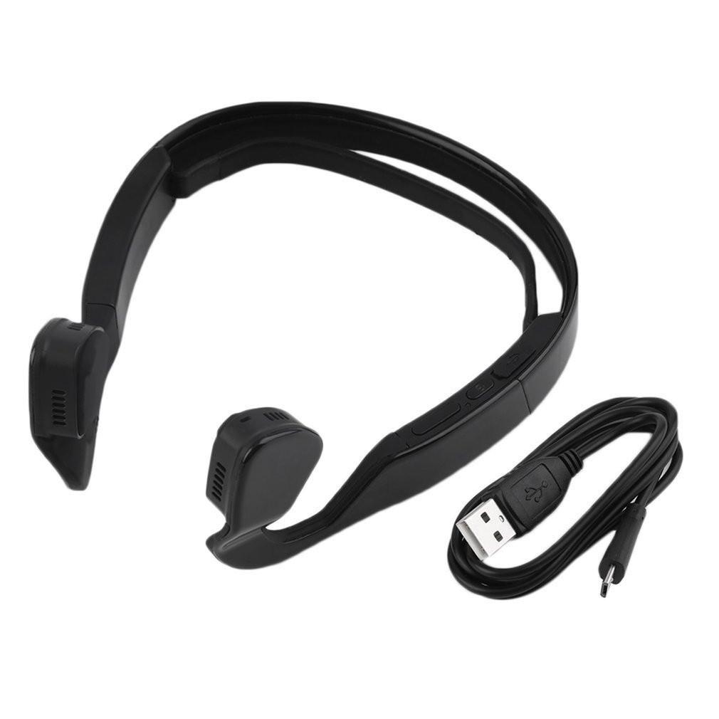 Bone Conduction Bluetooth 4.0 Wireless Stereo Headset ...