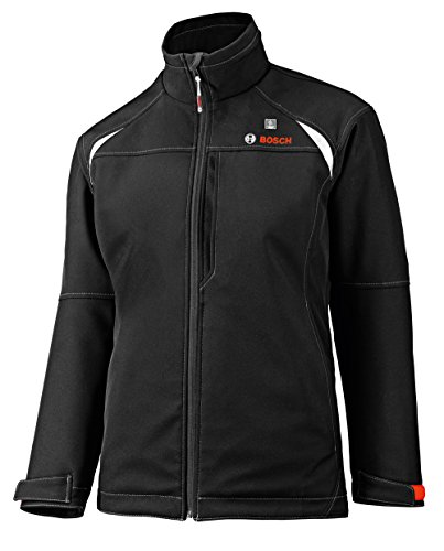 Bosch Women's 12-Volt Max Lithium-Ion Soft Shell Heated Jacket Kit with 2.0Ah Battery, Charger and Holster PSJ120XL-102W