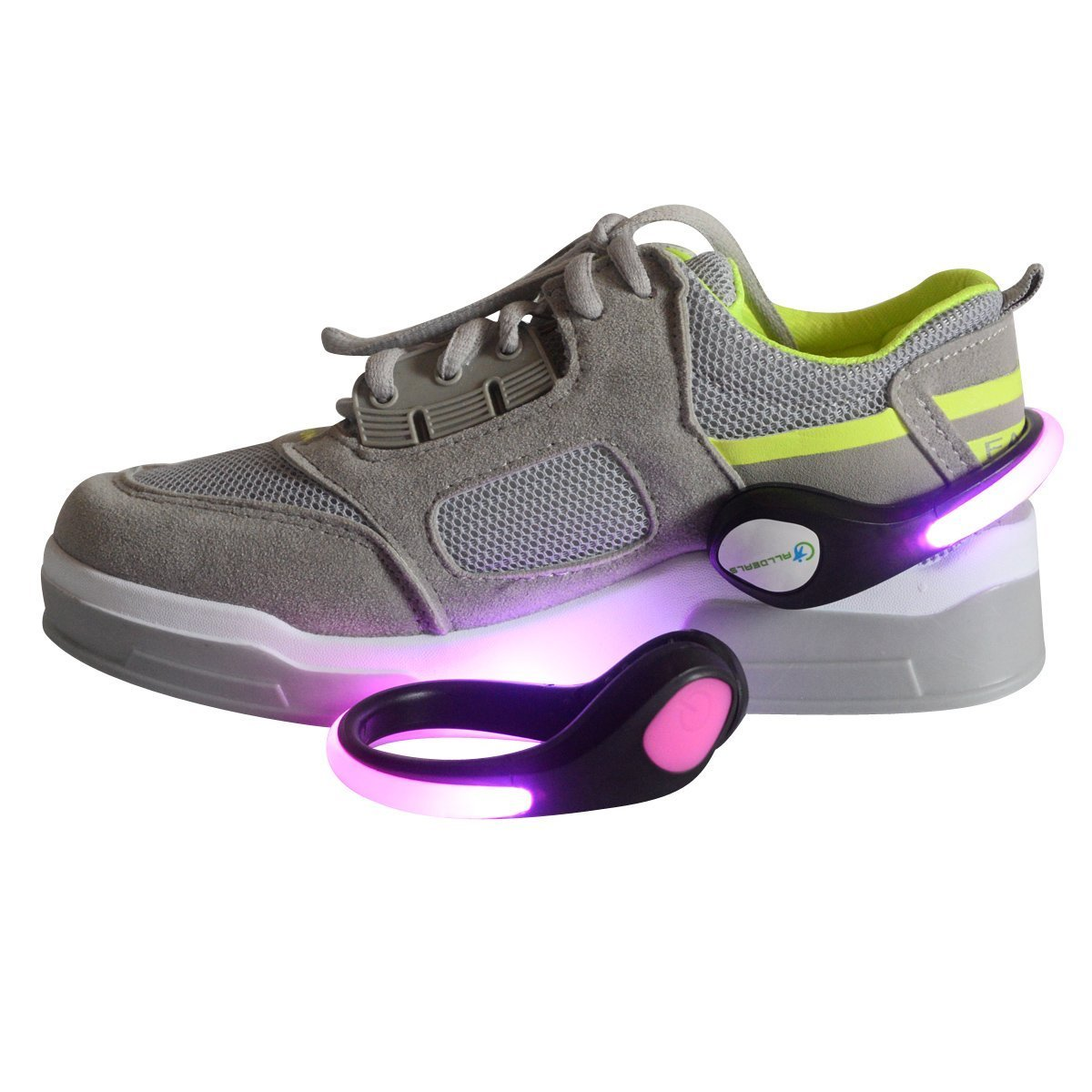 Colorful LED Flash Shoe Clip Lights - J&Y Distribution