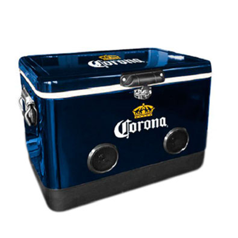 Corona Cooler With Bluetooth Speakers