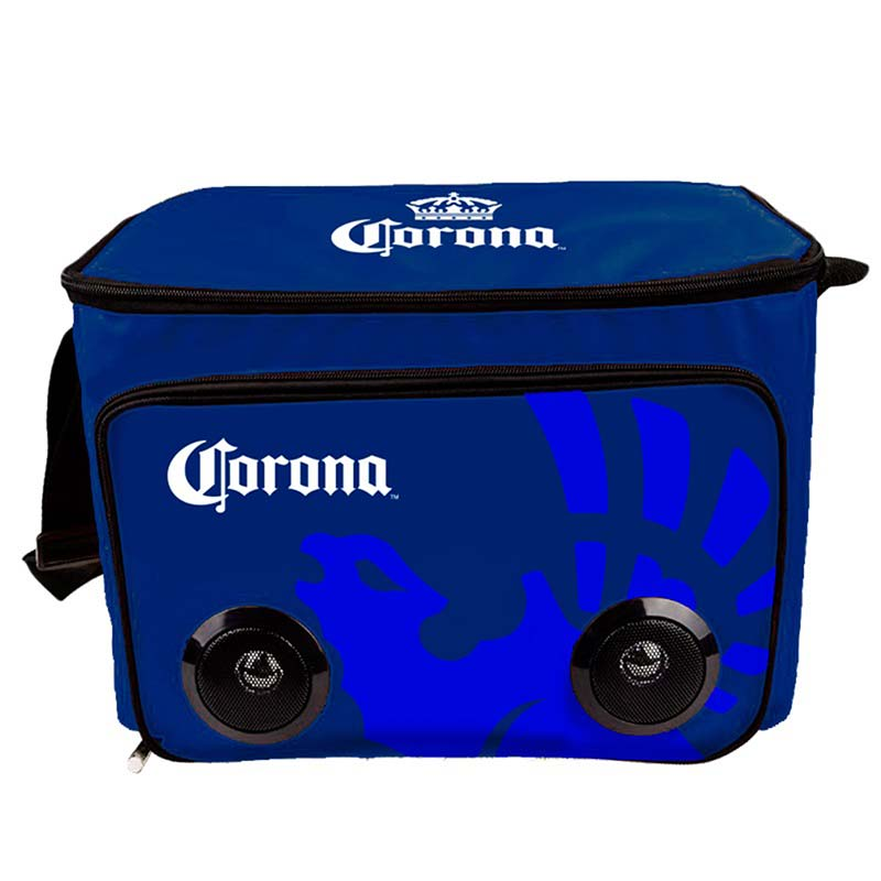 Corona Soft Cooler Bag With Built In Bluetooth Speakers