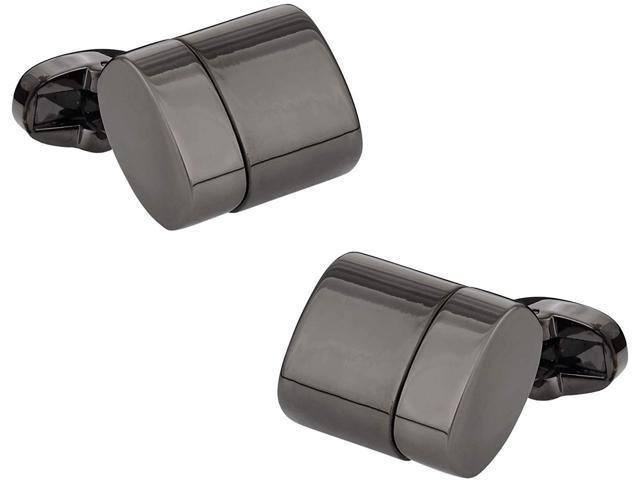 Cuff-Daddy USB Flash Drive Cufflinks in Gunmetal 4GB with Presentation Box