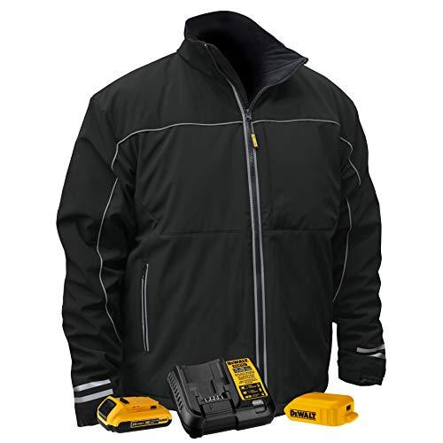 DEWALT Heated Lightweight Soft Shell Jacket Kit - MEDIUM