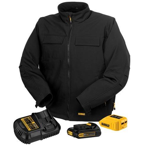 DEWALT MAX Black Heated Jacket Kit - SMALL