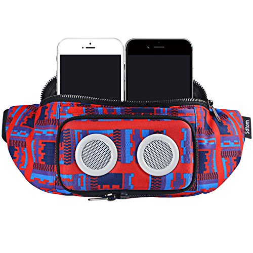 Fanny Pack with Bluetooth Speaker