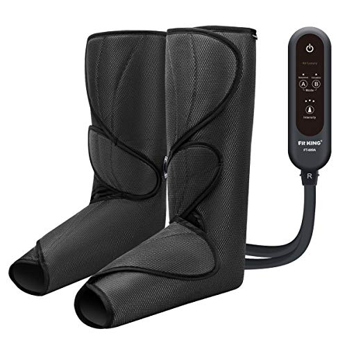 FIT KING Leg Air Massager - Black