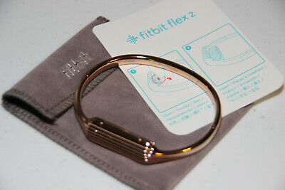 Fitbit Flex 2 Accessory Bangle Rose Gold Small