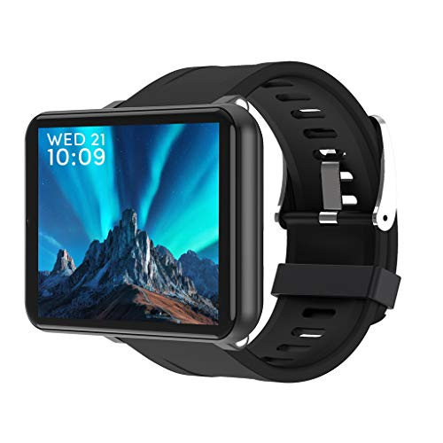 "for LEMFO LEM T - Android 7.1 4G LTE 2.86"" Screen Smart Watches,MT6739 3GB+32GB 5MP Camera,Translator,GPS,WiFi,Heart Rate Monitor,Multi Sport Mode Smartwatch Phone for Men Women (Black)"