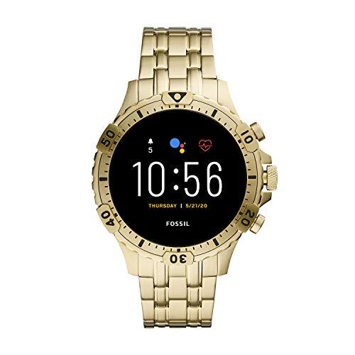 Fossil Gen 5 Smartwatch – Garrett HR Gold-Tone Stainless ...