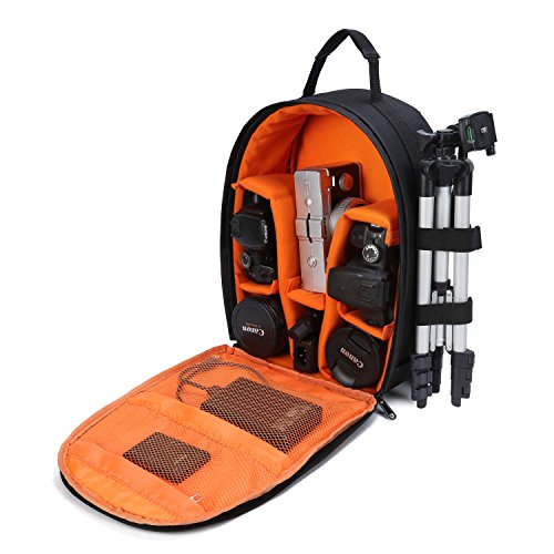 G-raphy Camera Bag for Camera, Lens, Tripod and Accessories (Small Size) - ORANGE