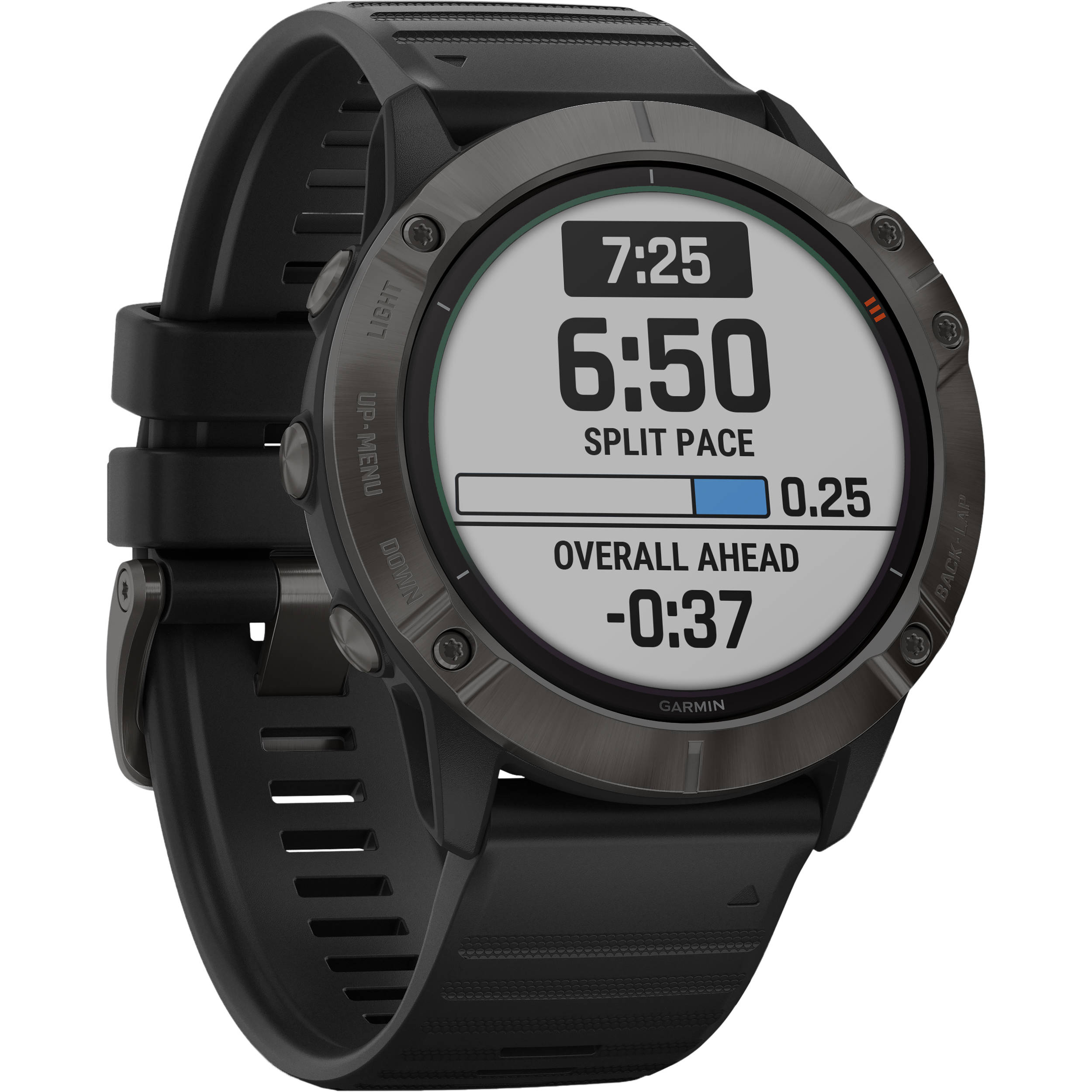 Garmin fenix 6X Multisport GPS Smartwatch 010-02157-20 B&H ...