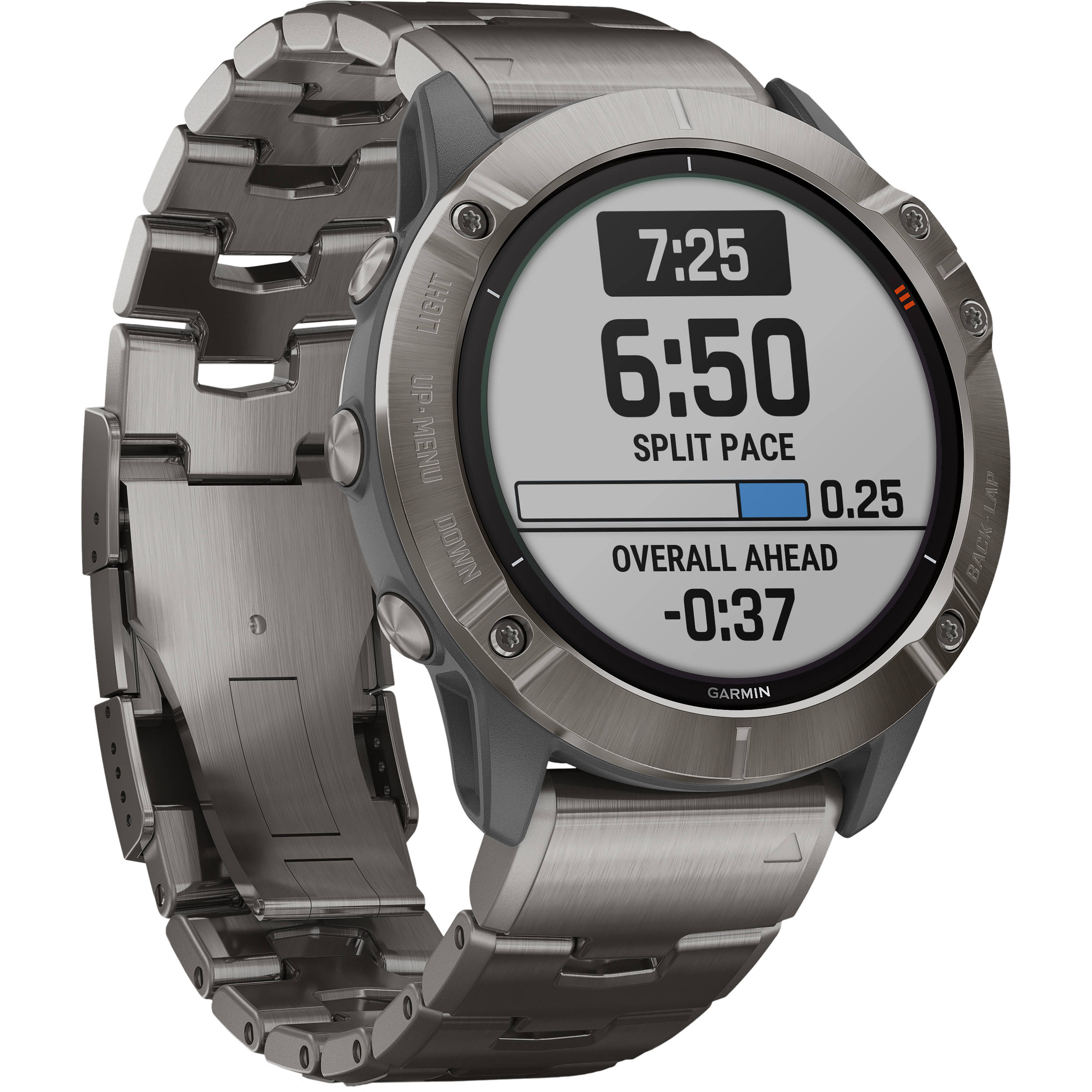 Garmin fenix 6X Multisport GPS Smartwatch 010-02157-23 B&H ...